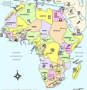 Signos zodíaco África