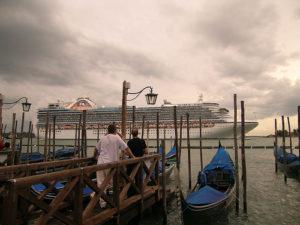no hay cielo abierto en Venecia