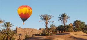 Paseo en globo aerostatico