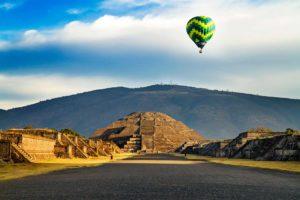 Globo en Teotihuacán