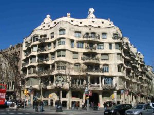 La Pedrera Casa Milá Barcelona