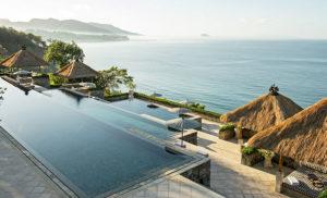 Piscina borde infinito Bali