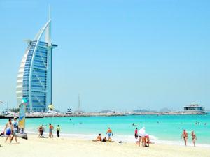 Visitar la Playa en Dubai