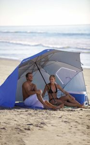 sombrilla umbrella portable for the beach