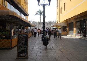 Pasaje José Olaya en Lima