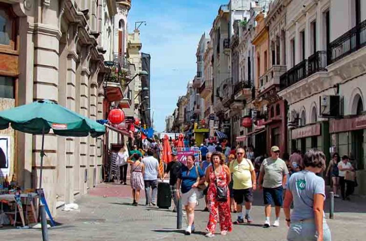 Centro Histórico de Montevideo en Uruguay