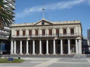 Palacio Estevez en el Centro Histórico de Montevideo