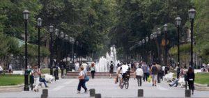 Paseo de Bulnes, Santiago de Chile