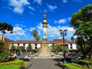 Plaza de La Independencia en Quito Ecuador