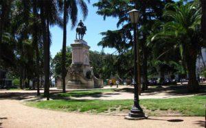 Plaza Zabala en Montevideo Uruguay