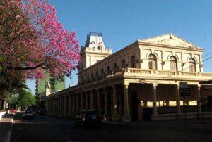 Estación de Ferrocarril Asunción Paraguay
