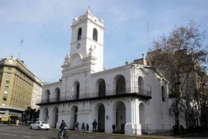 El Cabildo de Buenos Aires. Exterior
