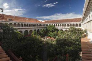 Convento de Santa Clara en Sucre, la capital de Bolivia