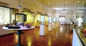 Interior del museo del tesoro en Sucre, capital de Bolivia