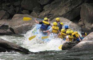 rafting en rio de categoria 4
