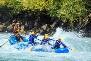 rafting chile aventura en el río futaleufu