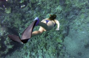 trismo de aventura snorkeling